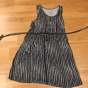 Black and white Maternity dress!